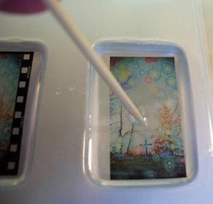 Make Your Own Resin Pendant Using Transparencies Resin